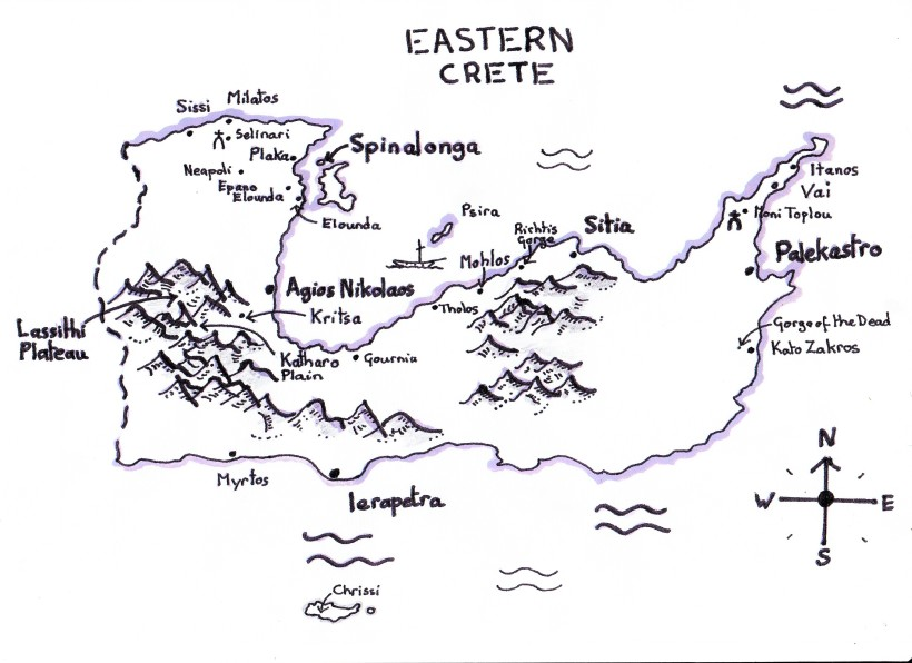 East Crete Map rev