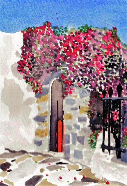 Pano doorway painting 001