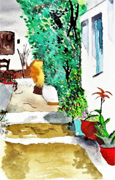 Village Street, Crete 001
